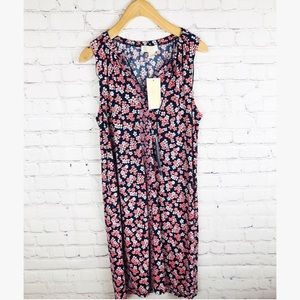 Micheal Kors NWT floral tank top dress medium